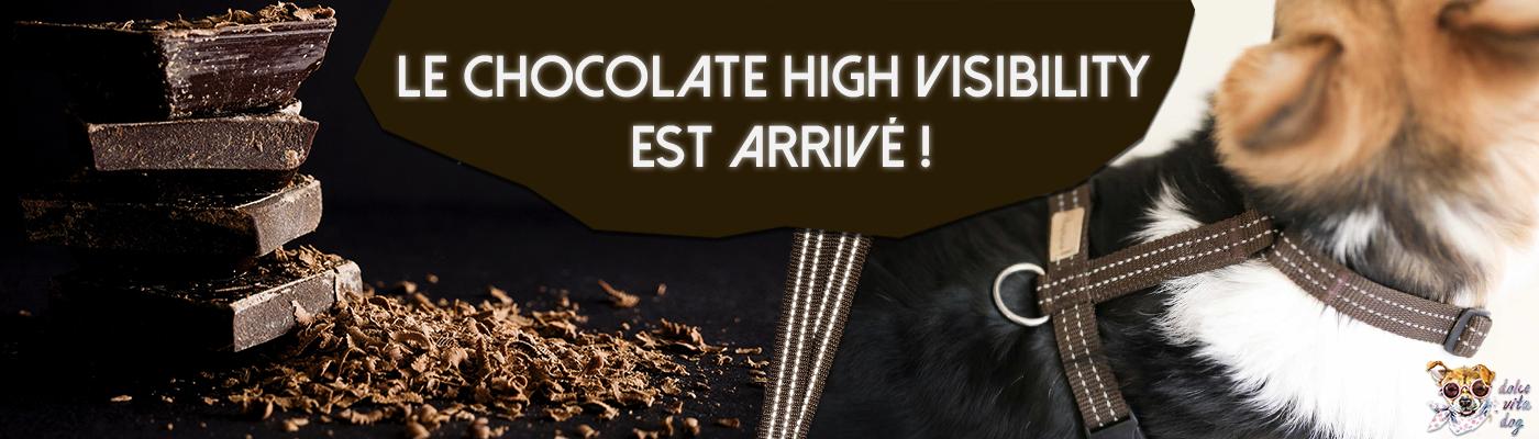 Harnais Haqihana Chocolate High Visibility est arrivé !