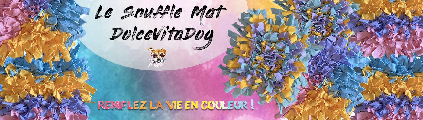 Les Snuffle Mat DolceVitaDog - Tapis de fouille pour chien